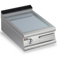 Gas Griddle With Smooth Plate Top