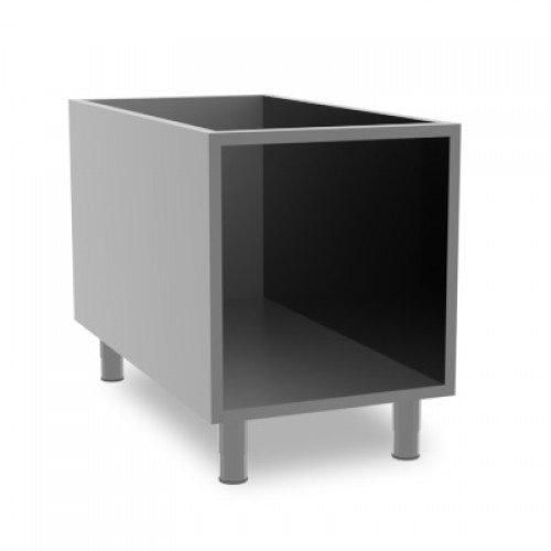 Baron Stainless steel open cabinet | 90VA400