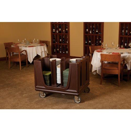 Cambro CAMBRO - Adjustable Dish Caddy - ADC33157 - Brown