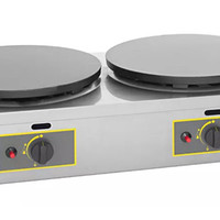 2 Roller Grill Commercial Crepe Maker for your Kitchen