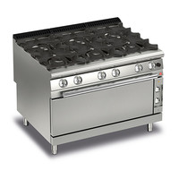 6 Burner Gas Range With Large Oven | Q90PCFL/G1201