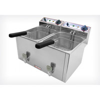Electric  Deep Fryer  FR 8+8 LT