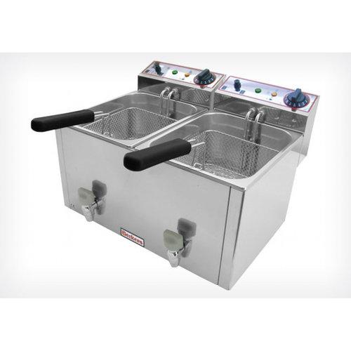 Beckers Electric  Deep Fryer| FR 8+8 LT