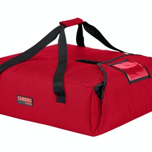 Cambro Cambro GBP220521 Customizable Insulated Red Pizza Delivery GoBag™