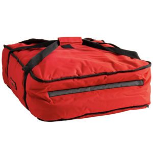 Cambro Cambro GBP318521 Customizable Insulated Red Pizza Delivery GoBag™