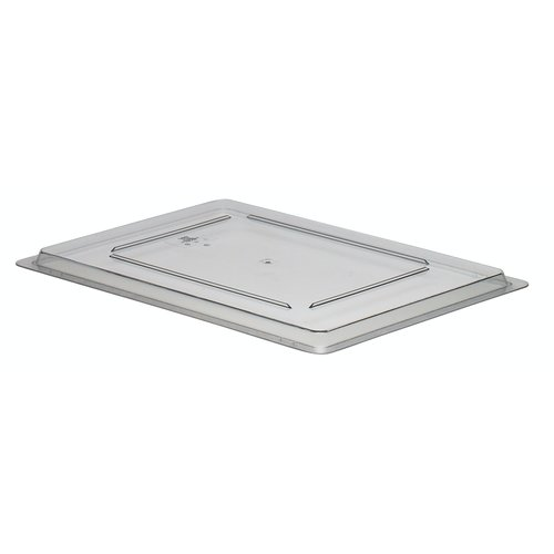 "Cambro Clear Flat Lid for Food Storage Box | 1826CCW135 | 18"" x 26"" 45,7 x 66 cm"