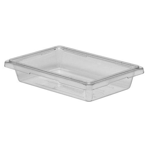 Cambro Clear Polycarbonate Food Storage Box | 12183CW135 |  1.75 gal 6,6 L