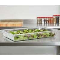 Clear Polycarbonate Food Storage Box | 18263CW135