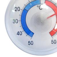 Plastic fridge/freezer thermometer