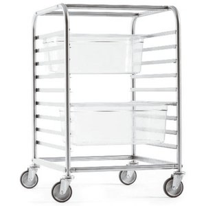 Paderno Gastronorm Rack Trolley | 44801-18