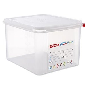 Araven GN 1/2 colour coded with lid - (12,5L)