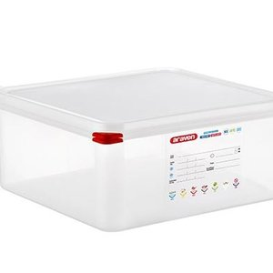 Araven GN 2/3 colour coded with lid - (13,5L)