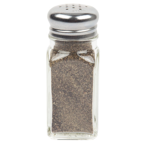 TableCraft Square Salt and Pepper Shaker | 154S&P  | 2 oz.