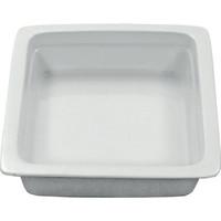 Oblong Porcelain Insert | GN 1/2 | 11207