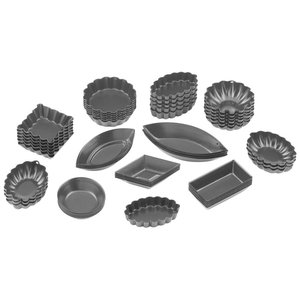 Paderno Small Assorted Moulds | 47730-60