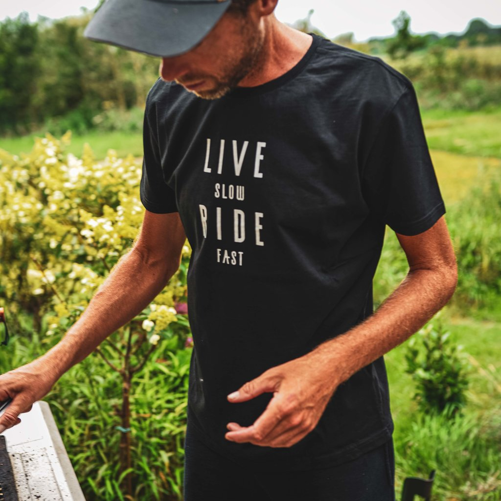 Live Slow Ride Fast Collection Live Slow Ride Fast - T-Shirt