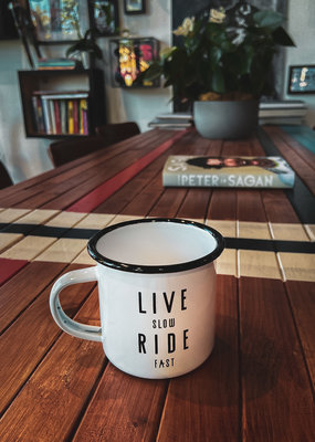 Live Slow Ride Fast Collection LIVE SLOW RIDE FAST - ENAMEL MUG