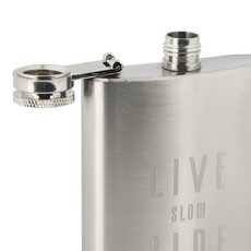 Live Slow Ride Fast Collection Live Slow Ride Fast - La Bomba - Hip flask