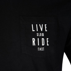 Live Slow Ride Fast Collection Live Slow Ride Fast - Pocket - T-Shirt