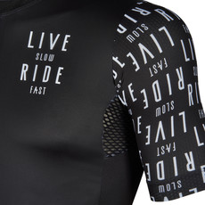 Live Slow Ride Fast Live Slow Ride Fast Jersey SS