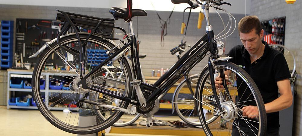 Onderhoudsbeurt voor uw elektrische fiets