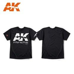Ak Official T-Shirt  Black (White Logo) - AK-051