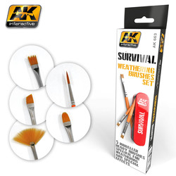 Survival Weathering Brush Set - AK-663