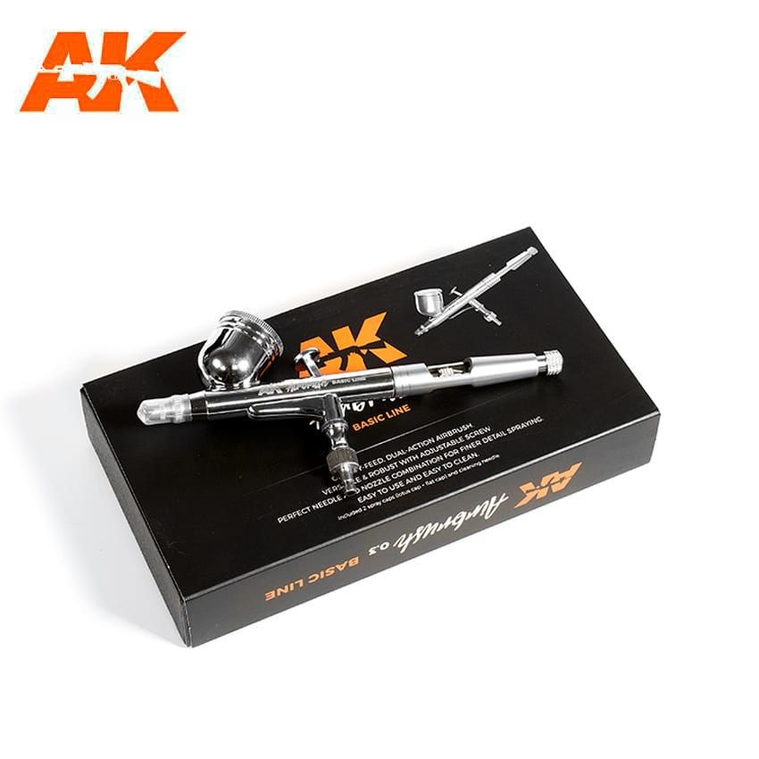 AK-Interactive Airbrush Basic Line 0.3 - AK-Interactive - AK-9000