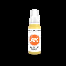 Pale Yellow Acrylic Modelling Color - 17ml - AK-11038