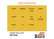 AK-Interactive Sand Yellow Acrylic Modelling Color - 17ml - AK-11035