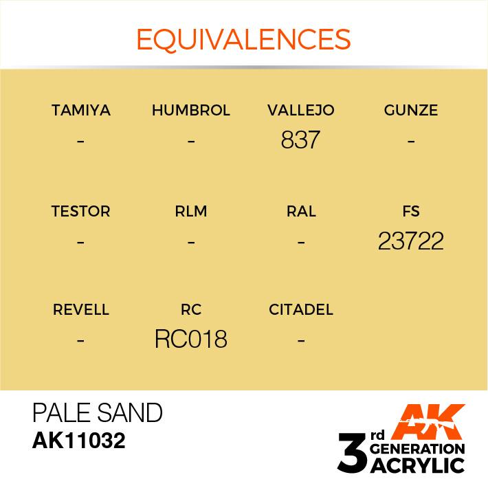 AK-Interactive Pale Sand Acrylic Modelling Color - 17ml - AK-11032