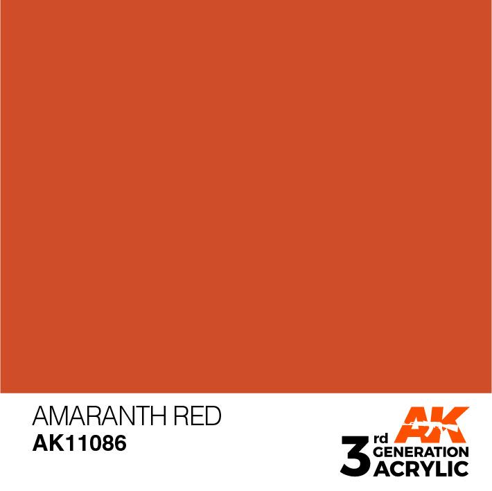 AK-Interactive Amaranth Red Acrylic Modelling Color - 17ml - AK-11086