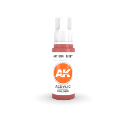 Ruby Acrylic Modelling Color - 17ml - AK-11084