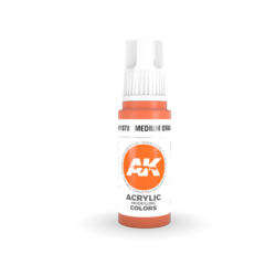 Medium Orange Acrylic Modelling Color - 17ml - AK-11078