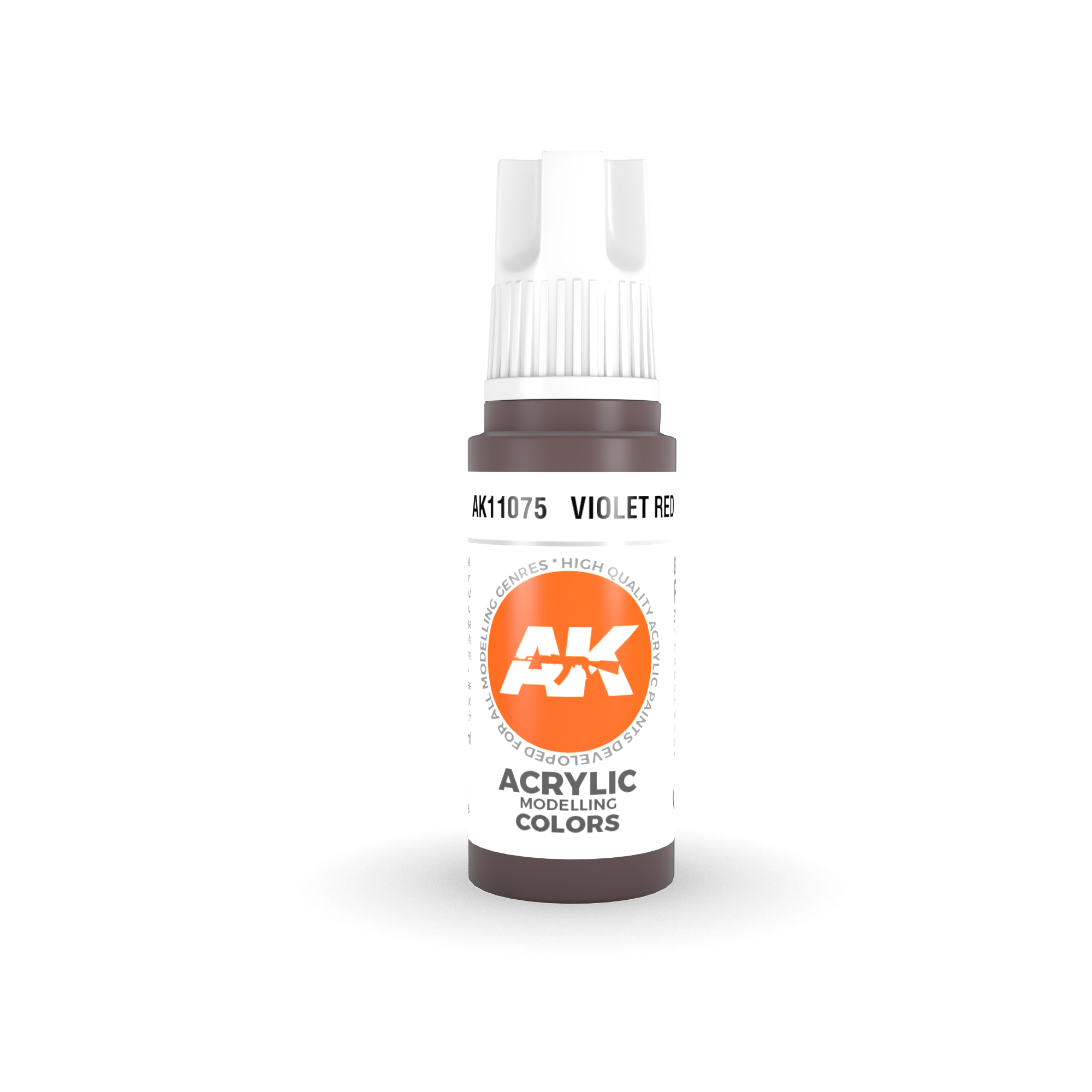AK-Interactive Violet Red Acrylic Modelling Color - 17ml - AK-11075