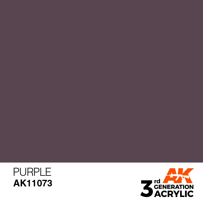 AK-Interactive Purple Acrylic Modelling Color - 17ml - AK-11073
