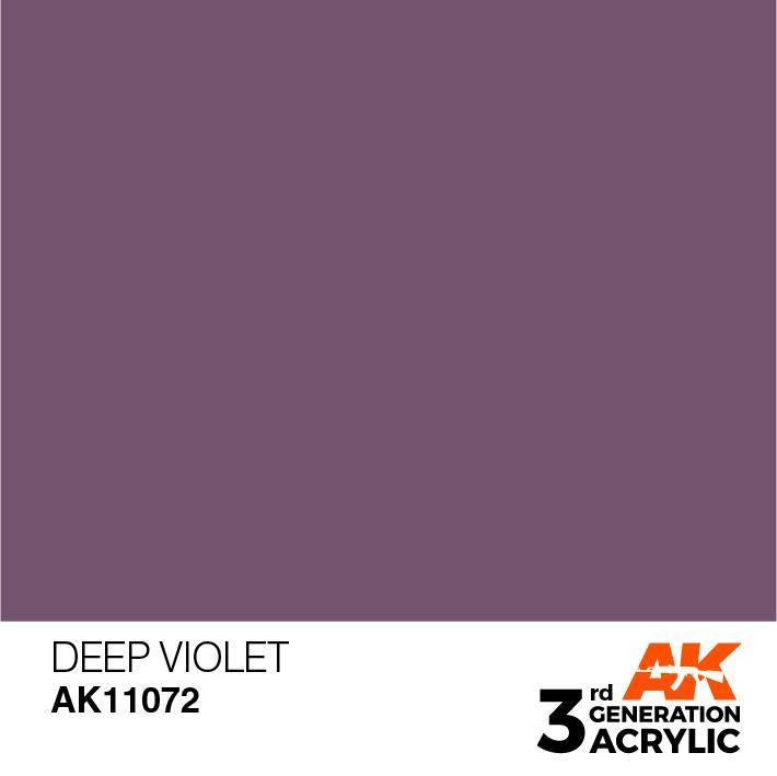 AK-Interactive Deep Violet Acrylic Modelling Color - 17ml - AK-11072