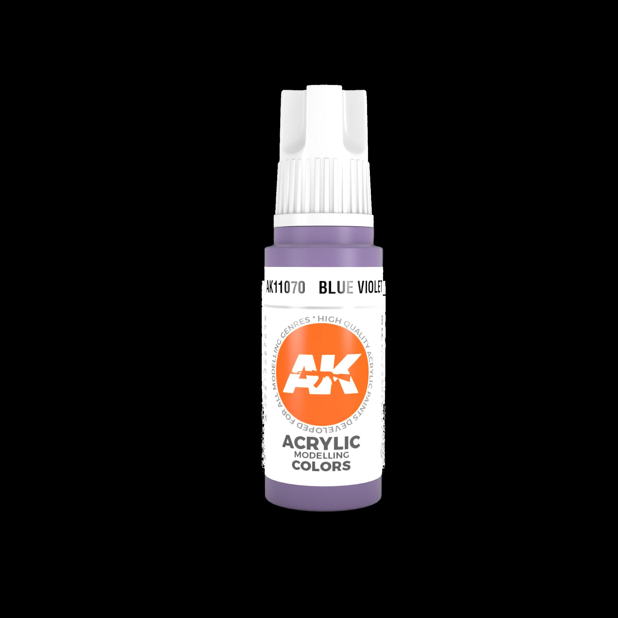 AK-Interactive Blue Violet Acrylic Modelling Color - 17ml - AK-11070