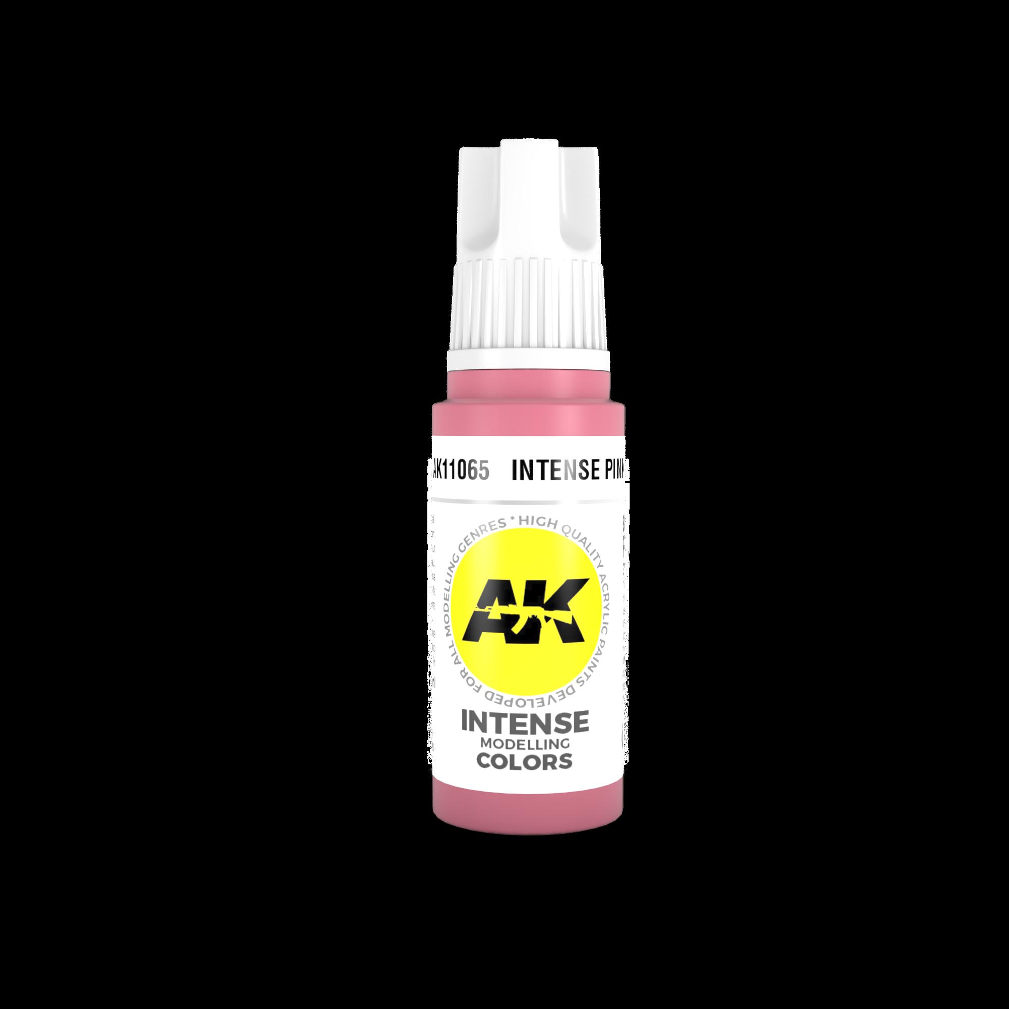 AK-Interactive Intense Pink Acrylic Modelling Color - 17ml - AK-11065