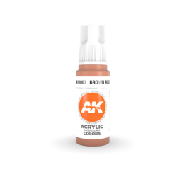 Brown Rose Acrylic Modelling Color - 17ml - AK-11063