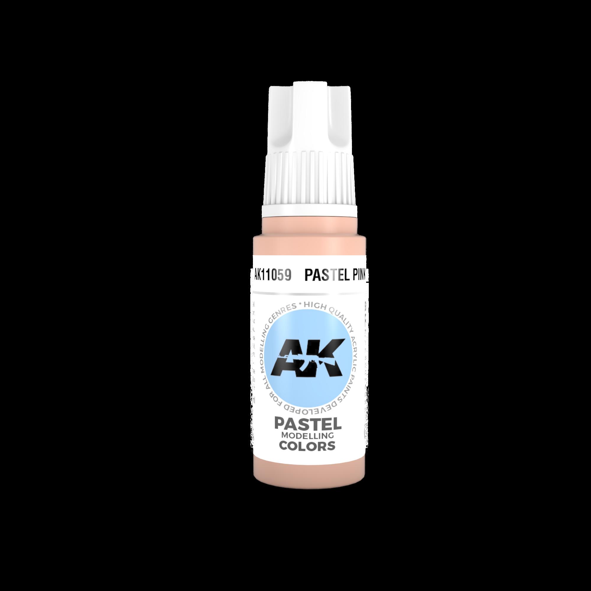 AK-Interactive Pastel Pink Acrylic Modelling Color - 17ml - AK-11059