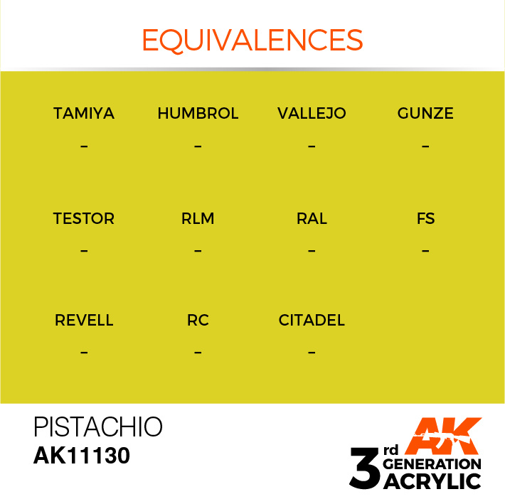 AK-Interactive Pistachio Acrylic Modelling Color - 17ml - AK-11130