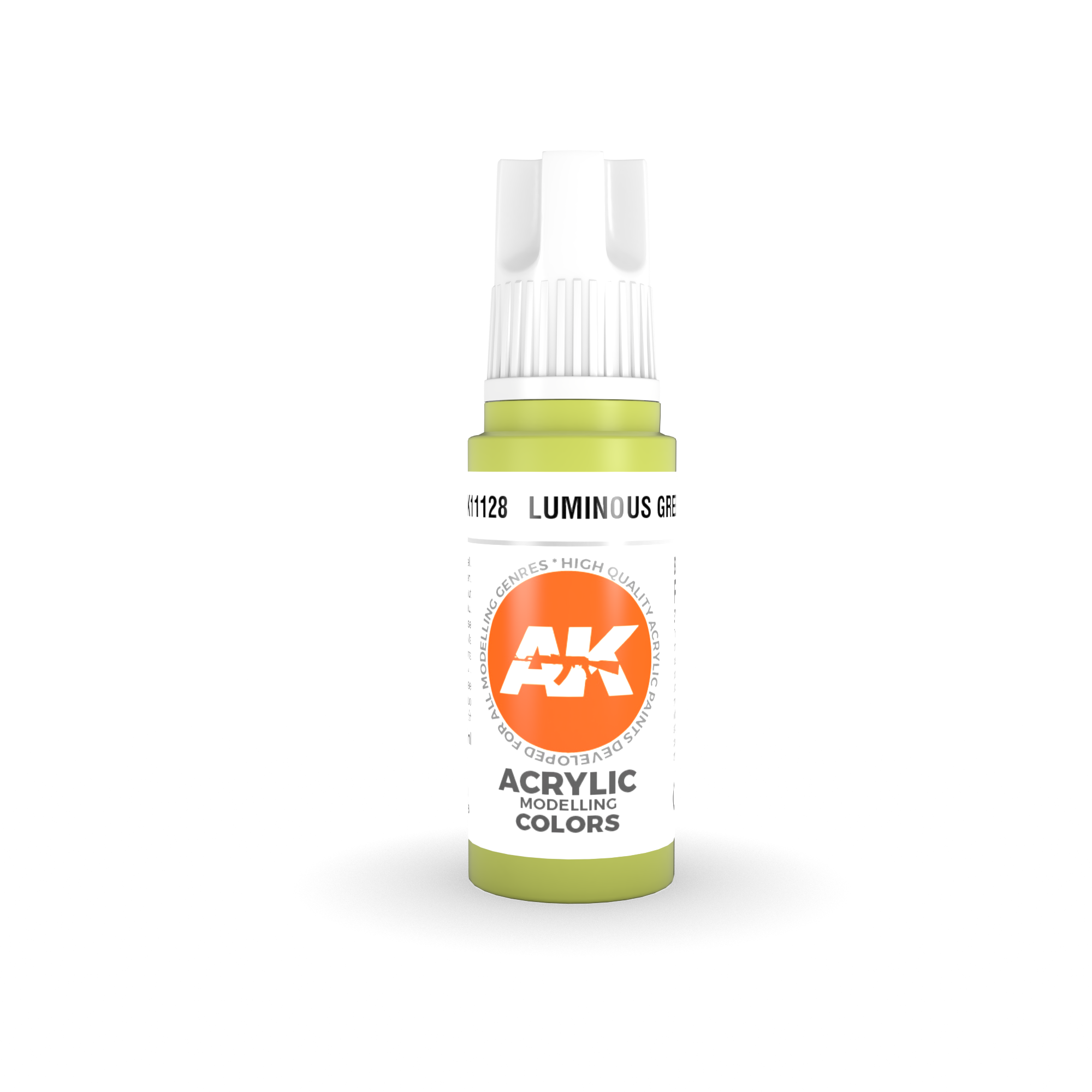 AK-Interactive Luminous Green Acrylic Modelling Color - 17ml - AK-11128