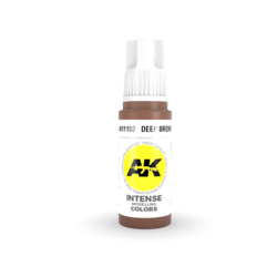 Deep Brown Acrylic Modelling Color - 17ml - AK-11102