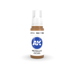 Rusty Brass Acrylic Modelling Color - 17ml - AK-11195
