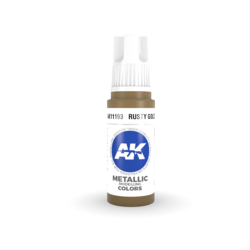 Rusty Gold Acrylic Modelling Color - 17ml - AK-11193