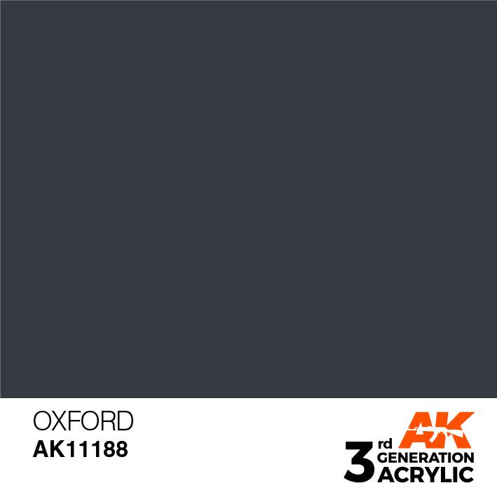 AK-Interactive Oxford Acrylic Modelling Color - 17ml - AK-11188