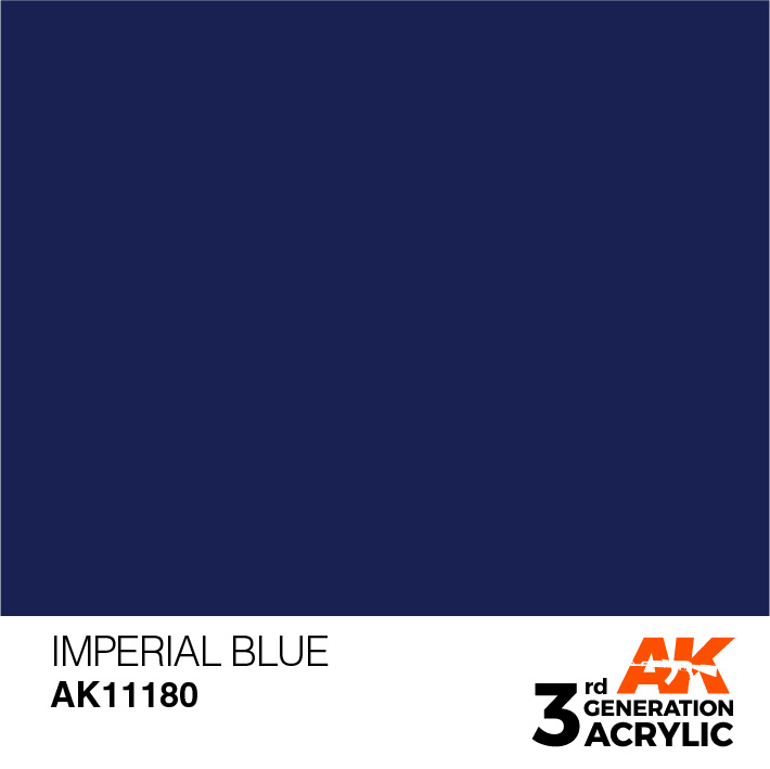 AK-Interactive Imperial Blue Acrylic Modelling Color - 17ml - AK-11180