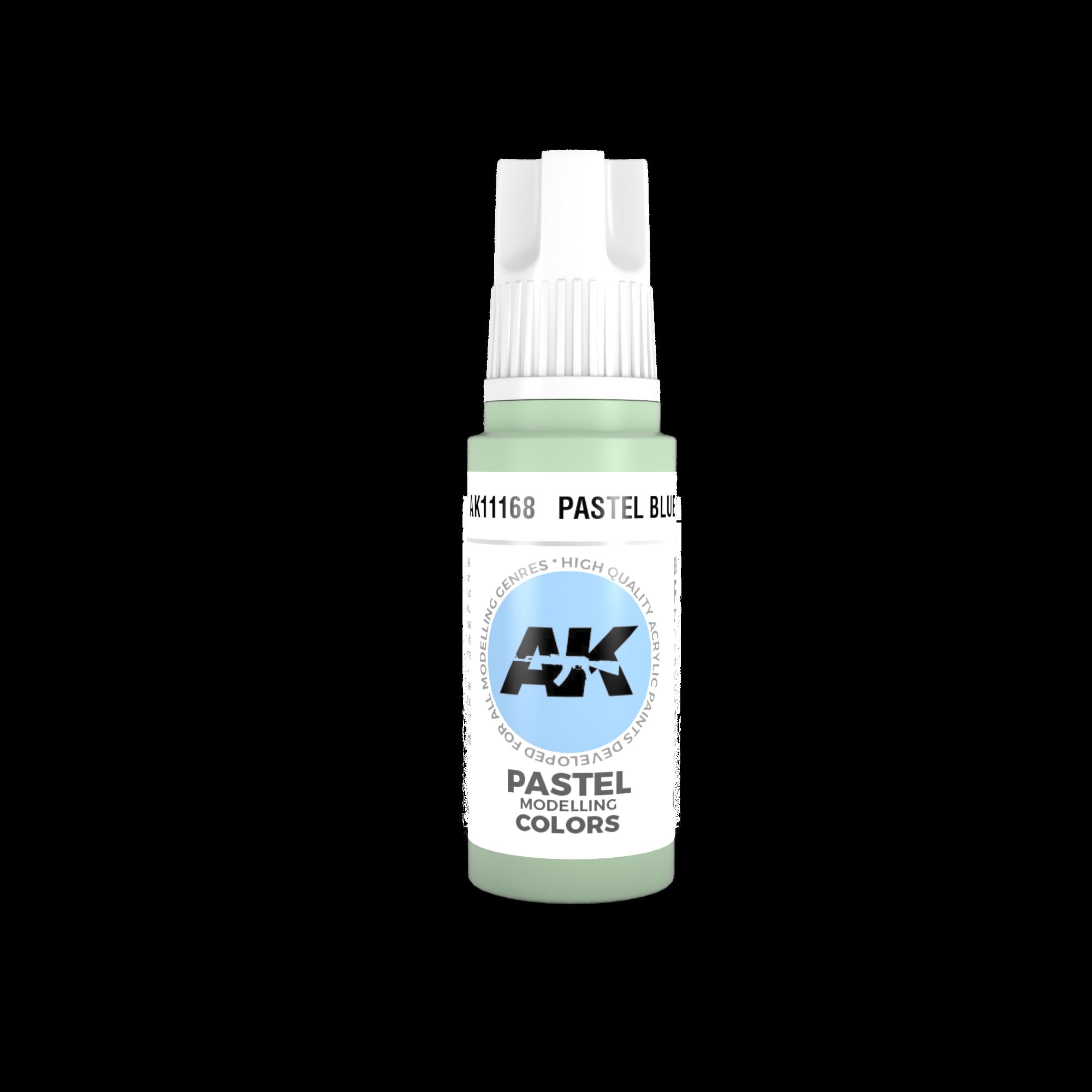 AK-Interactive Pastel Blue Acrylic Modelling Color - 17ml - AK-11168