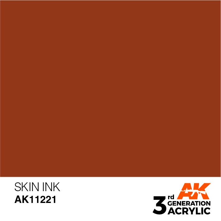 AK-Interactive Skin Ink Acrylic Modelling Color - 17ml - AK-11221